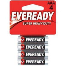 Батарейки «Energizer Eveready R03» типа AAA, упаковка 4 шт, 639609