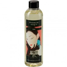 Массажное масло «Passion Massage Oil Rose» из серии Shiatsu от Hot Products, объем 250 мл, 66004