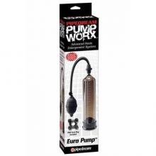 Вакуумная мужская помпа «Pump Worx Euro Pump», PipeDream PD3259-23