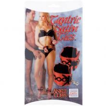 California Exotic «Tantric Ankle Cuffs» атласные манжеты на ноги
