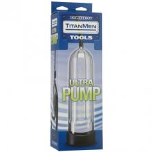 Вакуумная помпа «Titanmen Tools - Ultra Pump» цвет прозрачный, Doc Johnson DJ3800-05BX