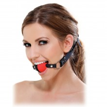 «Fetish Fantasy Series Two Tone Ball Gag» кляп черный с красным