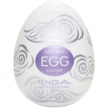 Tenga Egg «Cloudy» №10 мастурбатор-яйцо