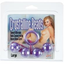 Анальная цепочка «Acrylite Beads Purple Large» 1236-14CDSE