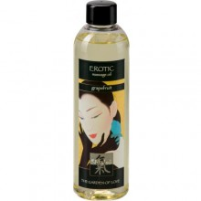 Массажное масло Shiatsu Oil Erotic Grapefrut, 250 мл, Hot 66003