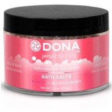 Соль для ванны Dona «Bath Salt Flirty Aroma Blushing Berry» 215 г
