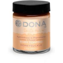 Карамель для тела DONA «Body Topping Honeysuckle» 59 мл