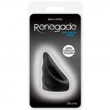 Эрекционное кольцо «Renegade Tear Drop Cockring Black», NS Novelties NSN-1116-53