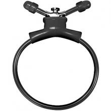 Утягивающее лассо на член «Adjustable Cockring Black», Shots Toys SH-SHT156BLK
