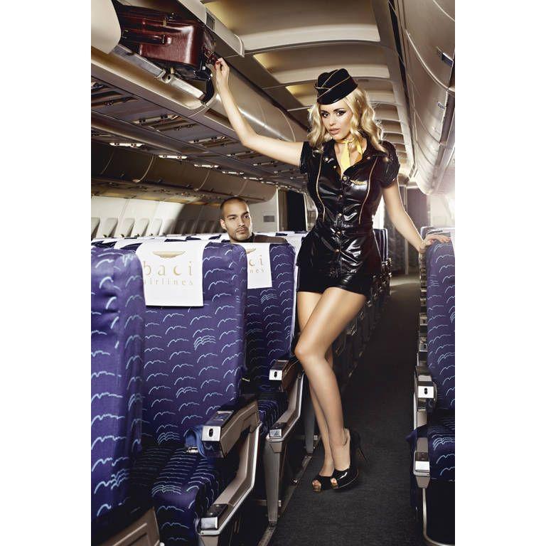 Видео про эротический костюм старшая стюардесса. размер s/m.