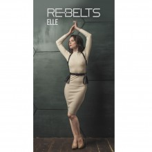Портупея 3 в 1 Rebelts «Elle Black», 7721Rebelts