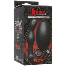 Силиконовый анальный душ Kink «Flow Full Flush - Silicone Anal Douche & Accessory», 2401-21 BX DJ
